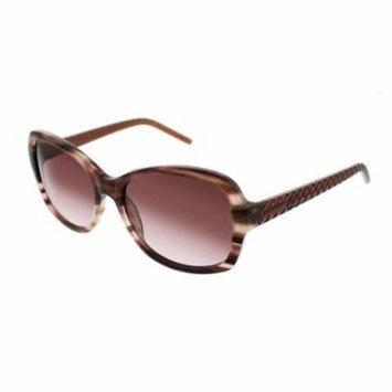 ELLEN TRACY Sunglasses VERIA Brown Horn 55MM