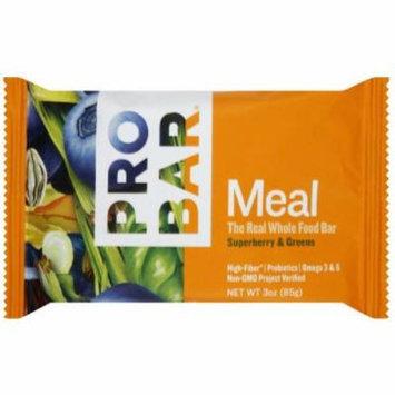 Pro Bar Meal Bar, Superberry & Greens, 3 OZ (Pack of 12)