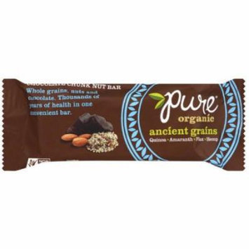Pure Bar Nut Bar, Chocolate Chunk, 1.23 OZ (Pack of 12)