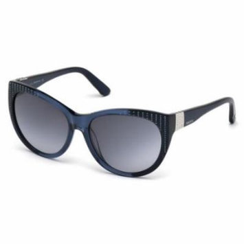 SWAROVSKI Sunglasses SK0087 92W Blue/Other 58MM
