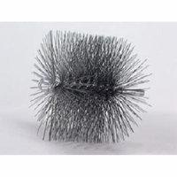 6'' Round Chimney Brush - 1/4'' thread