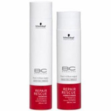 Schwarzkopf Bonacure Repair Rescue Shampoo (8.5oz) & Conditioner (6.8 oz) Duo