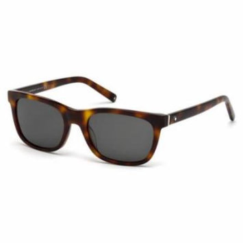 MONTBLANC Sunglasses MB507S 52D Dark Havana 53MM
