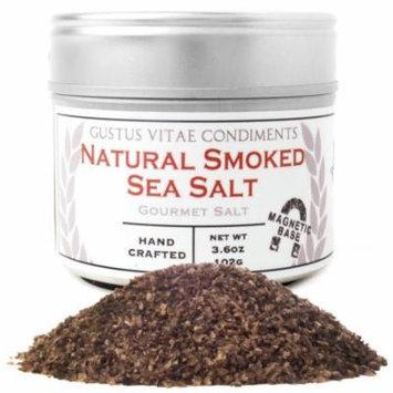 Gustus Vitae - Natural Smoked Sea Salt - 3.6 oz.