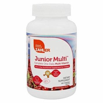 Zahler - Junior MultiVitamin Natural Cherry Flavor - 180 Chewable Tablets