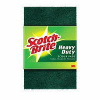 Scotch-Brite #233 Heavy Duty Scour Pads 3-Count (Pack of 24)