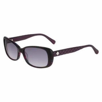 BEBE Sunglasses BB7155 526 Purple Horn 57MM
