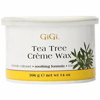 Gigi Tea Tree Creme Wax 14 oz. (Pack of 2)