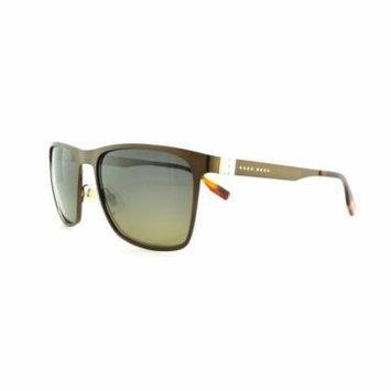 HUGO BOSS Sunglasses 0597/S 0Q7X Matte Brown 57MM