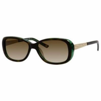 SAKS FIFTH AVENUE Sunglasses 84/S 0DY4 Emerald Havana 54MM