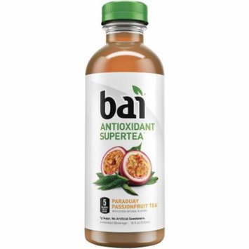 Bai Paraguay Passionfruit Tea, Antioxidant Infused Tea, 18 Ounce (Pack of 12)
