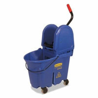 Rubbermaid Commercial Products 757888BLU WaveBrake Bucket And Wringer - Blue