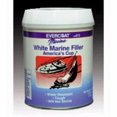 Fibreglass Evercoat 100574 White Marine Filler Gallon