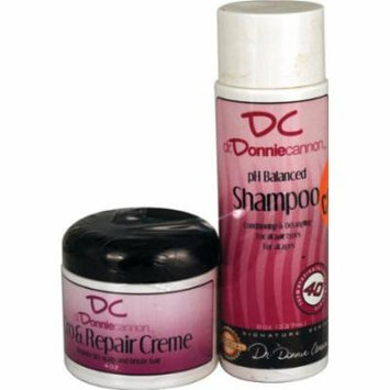 Donnie's Gro Cream with Shampoo 8 oz. (Pack of 2)