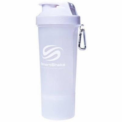 Smart Shake Shaker Cup, Pure White, 17 OZ