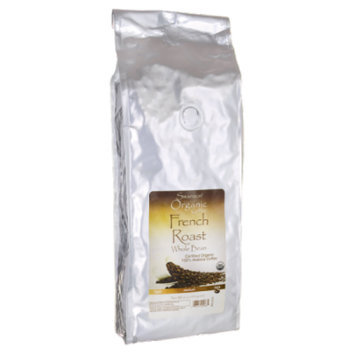 Swanson French Roast Whole Bean Organic Coffee - 1 lb (454 grams) Pkg