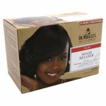Dr. Miracles Relaxer No-Lye Super Kit (Pack of 6)