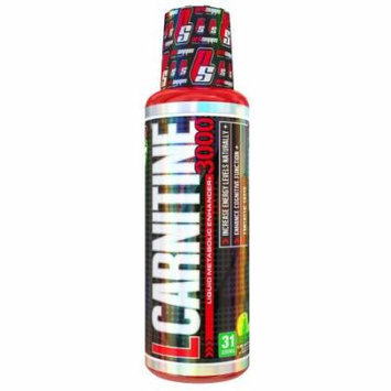 ProSupps L-Carnitine 3000 Supplement, Green Apple, 16 Ounce