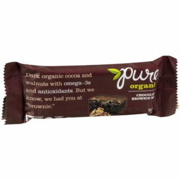 Pure Bar Chocolate Brownie Bar, 1.7 OZ (Pack of 12)