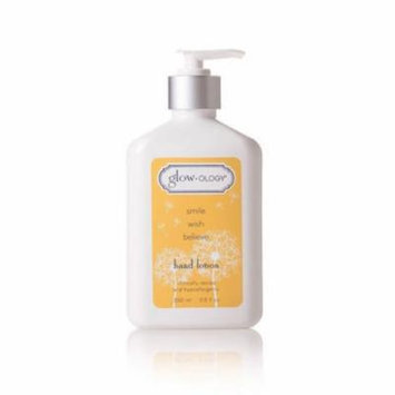 Demdaco Glow-ology Smile Hand Lotion Juniper & Pineapple Scent