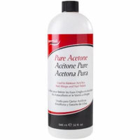 Super Nail Nail Polish Remover - Pure Acetone 32 oz. (Pack of 2)