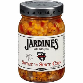 Jardines Gluten Free Sweet 'n Spicy Corn Medium Salsa, 16 oz