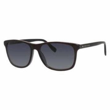HUGO BOSS Sunglasses 0634/S 0HTC Gray Black 55MM