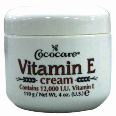 Cococare Vitamin E Cream 12000 Iu 4 oz. (Pack of 6)