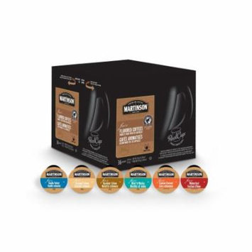 Martinson Coffee Variety Flavoured Pack, RealCup Portion Pack For Keurig Brewers, 72 Count