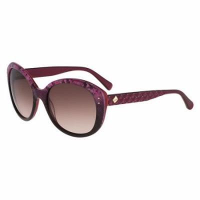 BEBE Sunglasses BB7148 512 Berry Snake 57MM