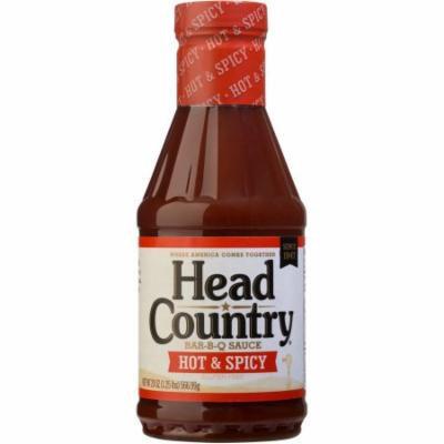Head Country Hot & Spicy Bar-B-Q Sauce, 20 oz