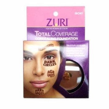Zuri Total Coverage Concealing Foundation 0.14 oz/4g (Ebony)
