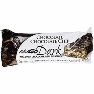 Nugo Dark Chocolate Chocolate Chip Bar, 1.76 oz, (Pack of 12)