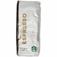 Starbucks Espresso Roast, Whole Bean Coffee (1lb)