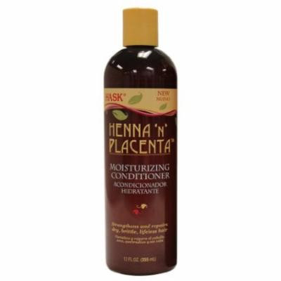 Hask Henna-n-Plac Moisturizing Conditioner 12 oz. (Pack of 2)