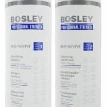 BOSLEY BOS REVIVE Shampoo and Conditioner Set Liter 33.8 oz Visible Thining Non Color Treated hair