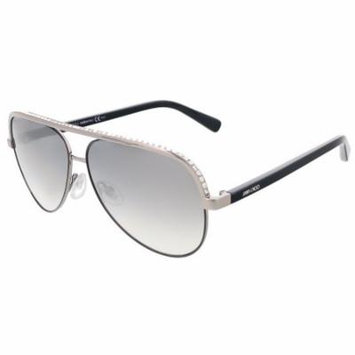 Jimmy Choo LINA/S 0TI5 Ruthenium Aviator sunglasses
