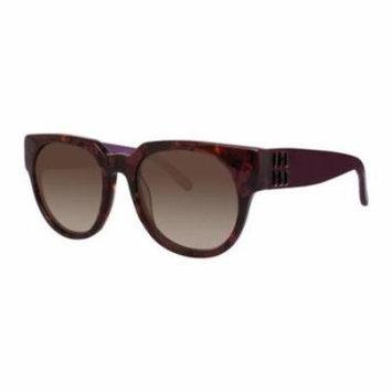 VERA WANG Sunglasses ISABETTA Red Tortoise 52MM