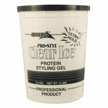 Ampro Styling Gel - Ice 5 lb. (Pack of 6)