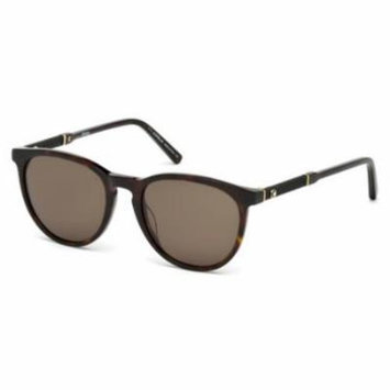 MONTBLANC Sunglasses MB588S 52E Dark Havana 52MM
