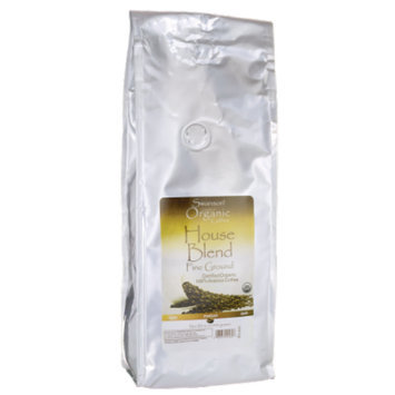 Swanson House Blend Fine Ground Organic Coffee - 1 lb (454 grams) Pkg