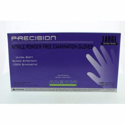 Adenna PRECISION Thin Nitrile PF, Fingertip Textured PCS776 Large