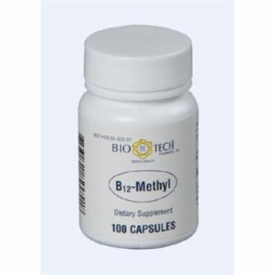 Bio-Tech, B12 Methyl 100 vegcaps