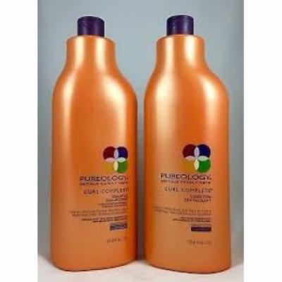 Pureology Curl Complete Shampoo conditioner 33.8 Oz/1 Ltr