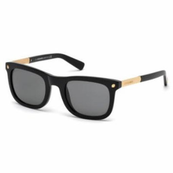 DSQUARED2 Sunglasses DQ0178 01A Shiny Black 52MM