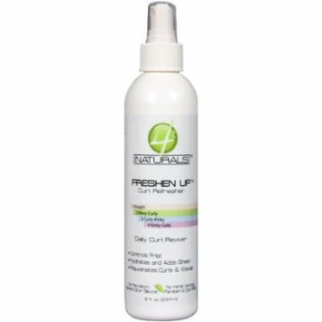 4 Naturals Freshen Up Curl Refresher 8 oz. (Pack of 2)
