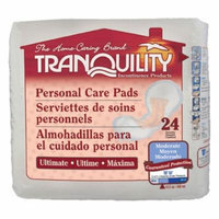 Tranquility 2381 Tranquility Ultimate Personal Care Pad 96/case