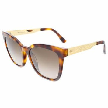 Jimmy Choo JUNIA/S 0BHZ Havana Square sunglasses