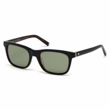 MONTBLANC Sunglasses MB507S 01N Shiny Black 53MM