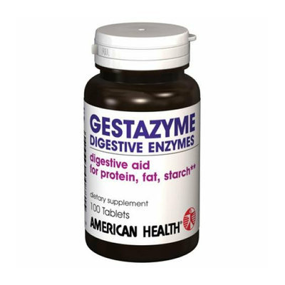 American Health Gestazyme Digestive Enzymes 100 Tablets